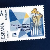 Sello Conmemorativo 50 Aniversario CT Cristóbal Colón