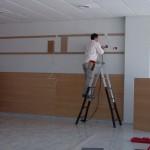 Instalación Sala VIP Cajasol en el Circuito de Jerez